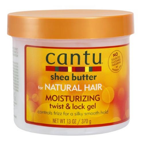 Cantu Shea Butter Moisturizing Twist & Lock Gel for Natural Hair, 13oz