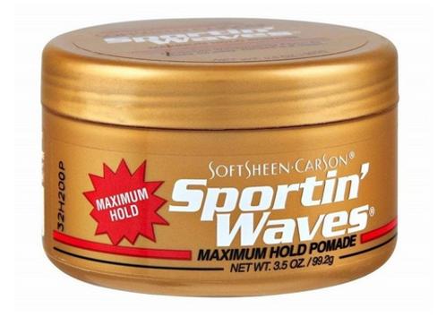 Sportin Waves Pomade Maximum Hold 3.5 oz