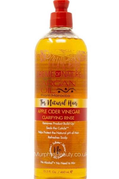 Argan Oil Apple Cider Vinegar Rinse 15.5 Ounce