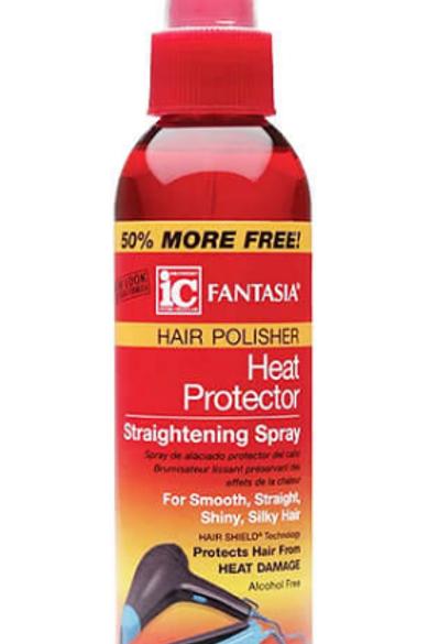 Fantasia IC Hair Polisher Heat Protector Straightening Spray 6 oz