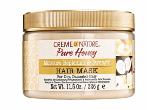 Creme of Nature Pure Honey Moisture Replenish & Strengthening Hair Mask 11.5 oz