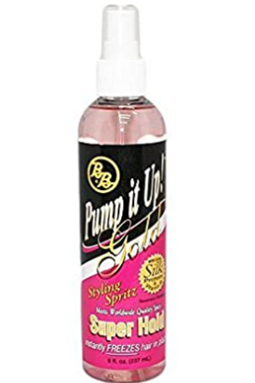 BB Pump it Up! Styling Spritz, Gold Super Hold
