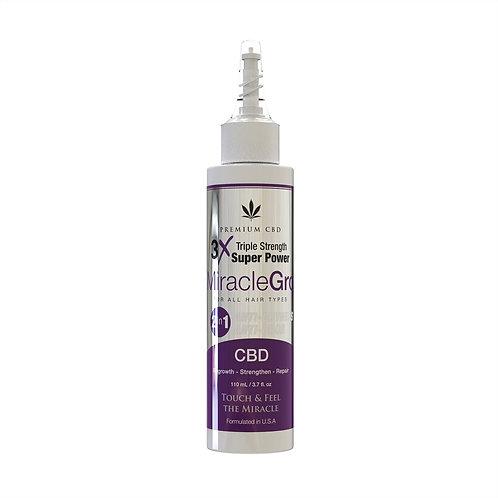 Premium CBD 3x Miracle Gro | 2 in 1 Anti-Dryness & Anti-Odor