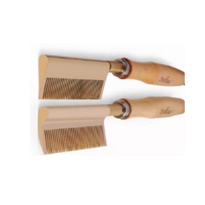 StellaPro Brass Teeth Steel Pressing Comb
