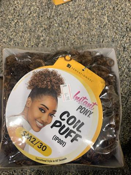 Instant Pony Afro Coil Small