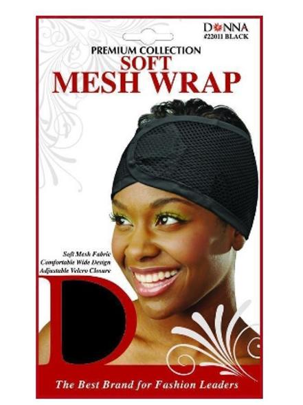 Donna Premium Collection Soft Mesh Wrap - Black #22011