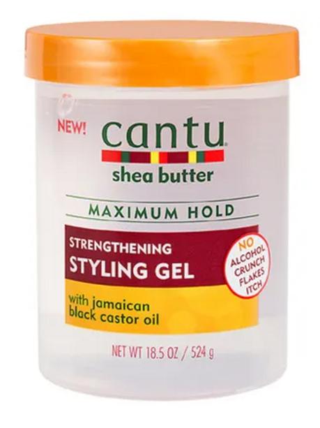 Cantu Styling Gel, Jamaican Black Castor Oil - 18.5 oz
