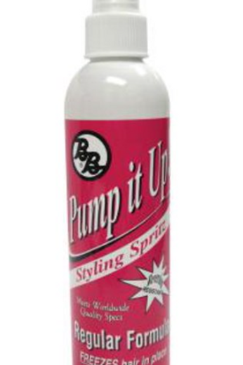 BB Pump It Up Regular Formula Styling Spritz, 8 oz