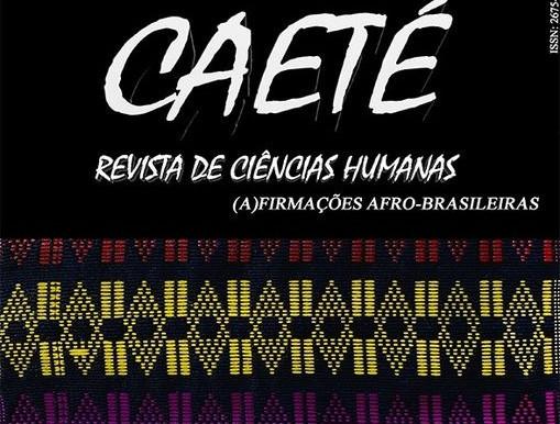 Revista de Ciências Humanas Caeté acaba de publicar seu último número
