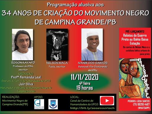 34 anos de Criação do Movimento Negro de Campina Grande/PB