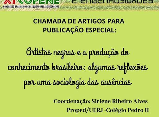 CHAMADA DE ARTIGOS