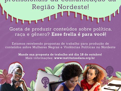 ATENÇÃO Mulheres Negras profissionais da comunicação da Região Nordeste!📢