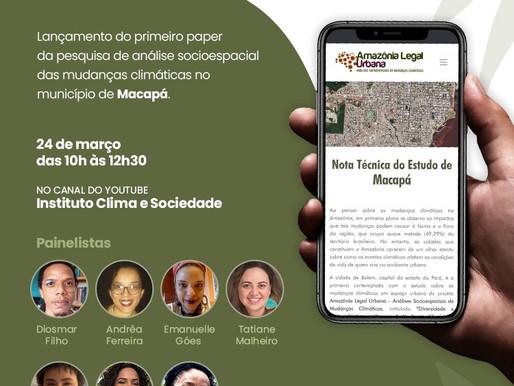 Webnário - Amazônia Legal  Urbana Macapá
