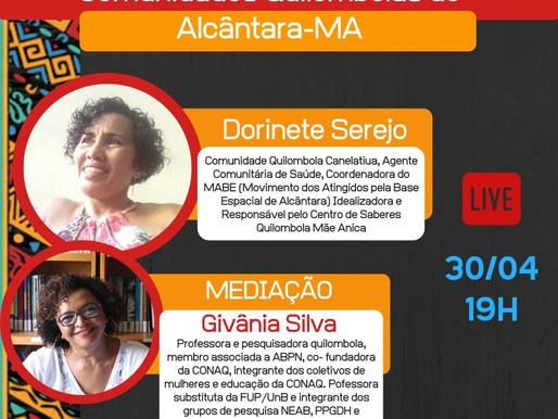 Para saudar a importância das comunidades quilombolas de Alcântara-MA, quinta 19h tem Live da ABPN