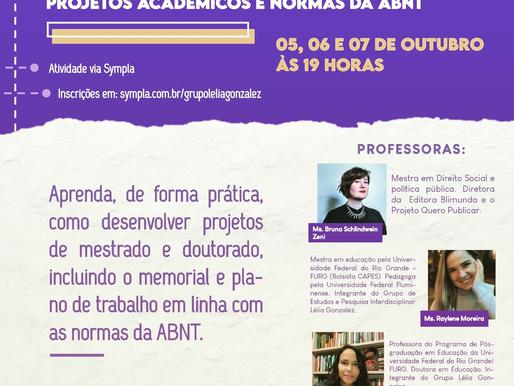 Curso Projetos Acadêmicos e Normas da ABNT