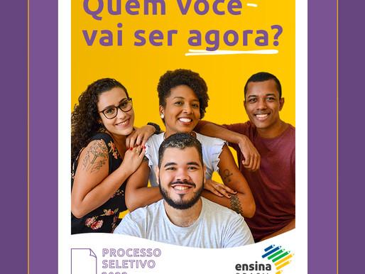 INSCRIÇÕES ABERTAS para o Processo Seletivo 2022 do @Ensina Brasil!