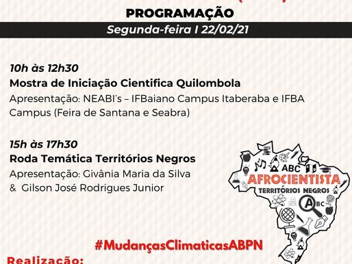 MUDANÇAS CLIMÁTICAS E TERRITÓRIOS NEGROS