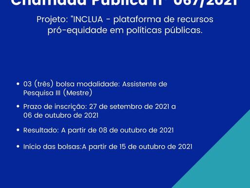 Chamada Pública nº 067/2021