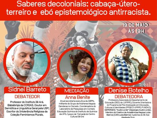 Terça-feira tem live da ABPN com Ana Benite, Denise Botelho e Sinei Barreto, vai perder?