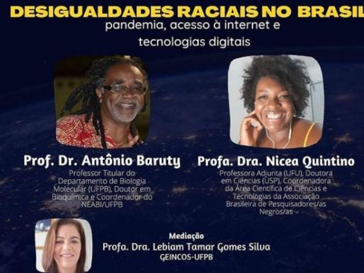 Desigualdades raciais no Brasil: pandemia, acesso à internet e as tecnologias digitais