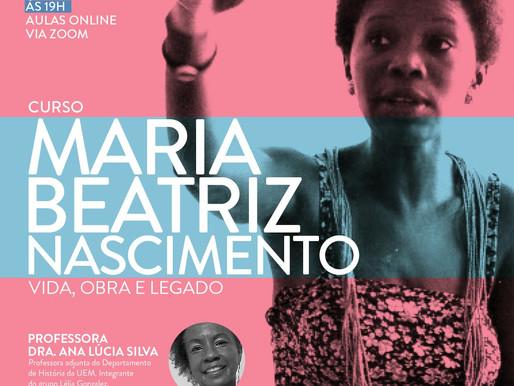 curso on-line de curta duração Maria Beatriz Nascimento – Vida, Obra e Legado