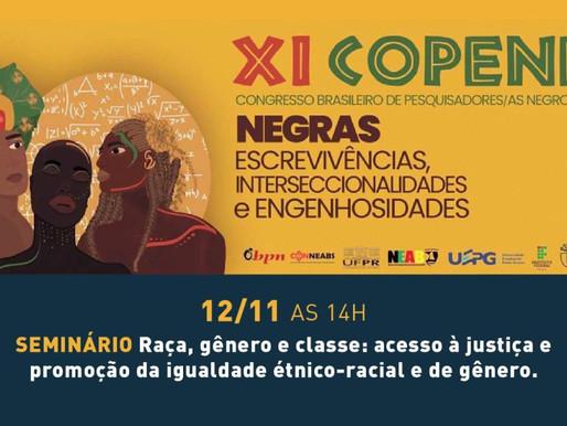 Seminário-Raça, gênero e classe: acesso à justiça e promoção da igualdade étnico-racial e de gênero