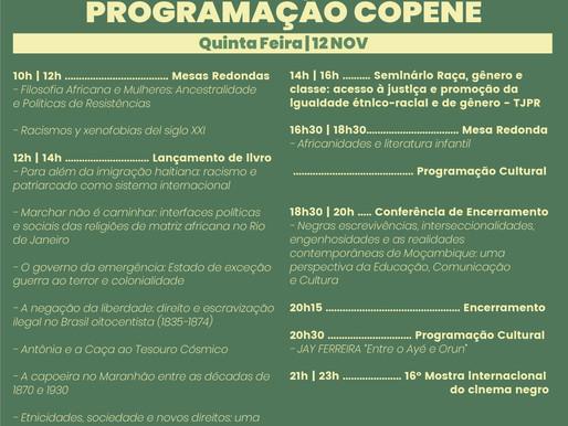 Programação XI COPENE