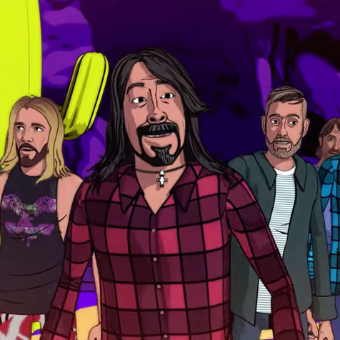 FOO FIGHTERS Unleash New Animated Music Video 'Chasing Birds'