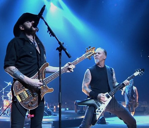 Metallica pays tribute to Lemmy on his 4th anniversary of his passing