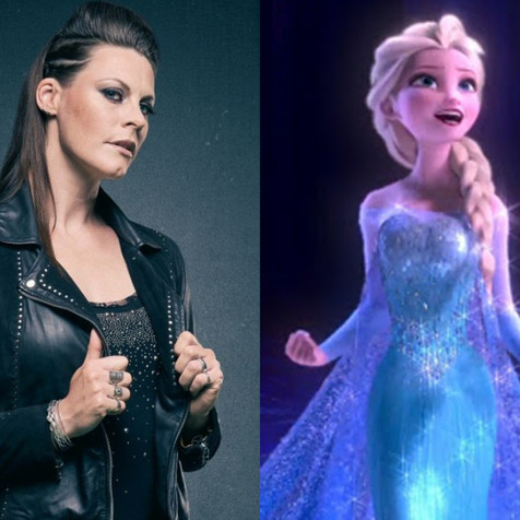 FLOOR JANSEN Releases Cover Of 'Let It Go' of 'Frozen' Movie