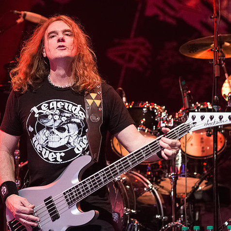 Watch Ellefson Perform MEGADETH Songs  In San Antonio