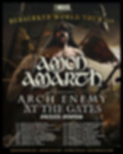 Amon Amarth/Arch Enemy/At The Gates/Grand Magus 2019 U.S. tour