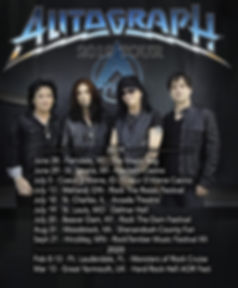 Autgraph 2019-20 U.S./U.K. Tour