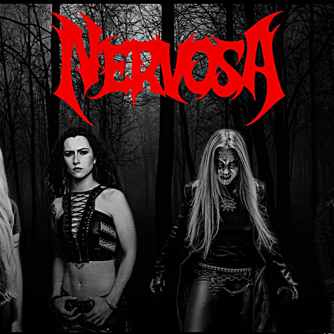 NERVOSA Unleashes New Music Video And Album Title