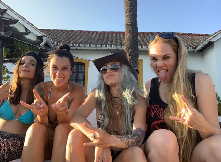 NERVOSA Have Started Recording Sessions