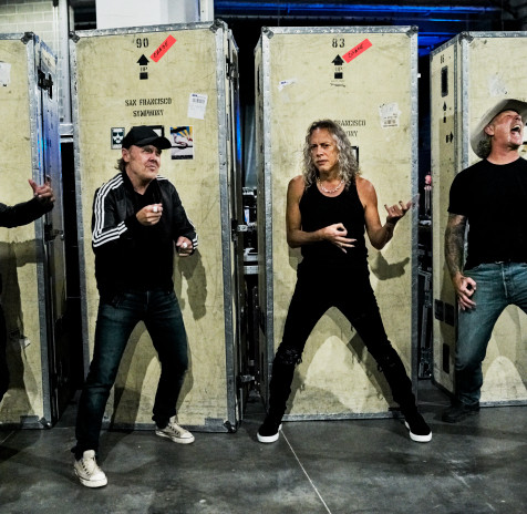 Watch METALLICA  Perform On 'The Howard Stern SHow'