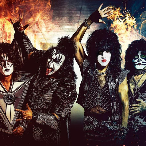Watch KISS' Dubai Soundcheck & Pyros