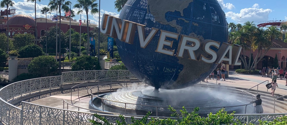 Universal Studios Orlando - Stepping Into a Theme Park Again!