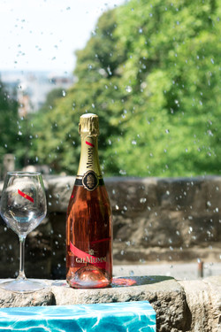 Champagne rose Mumm