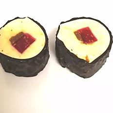 Maki croustillant noisette & framboise