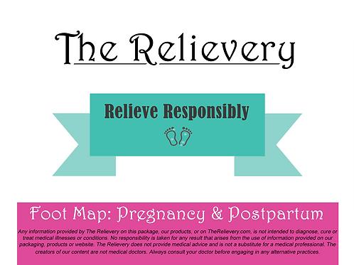 Foot Map for Pregnancy & Postpartum