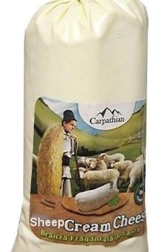 Carpathian Branza De Burduf Romanian Sheep Cream Cheese Approx. 1lb