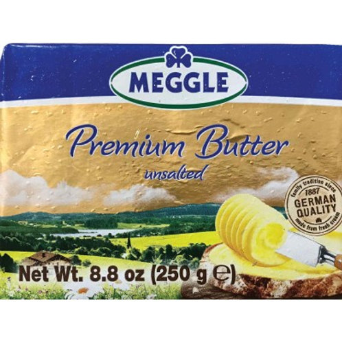 Meggle Premium Unsalted Butter (German Quality)