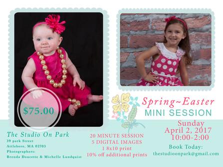 Spring~Easter Mini Session