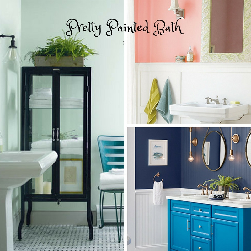 Traditional Paperhanging & Painting paints bathrooms