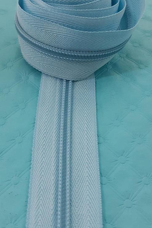 zíper - azul claro