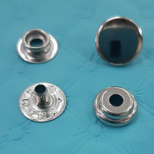 Botão de Pressão - 80- prata