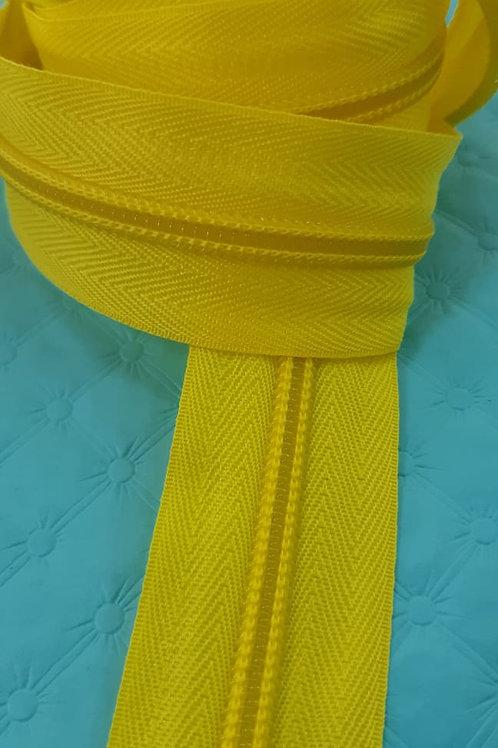 Zíper - amarelo