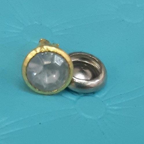 Rebite cristal - 8 - ouro