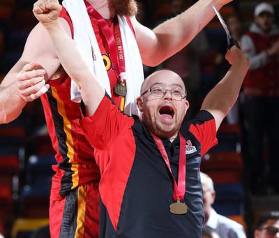 Dino's Men's Basketball Team Recognized for Effort off the Court
